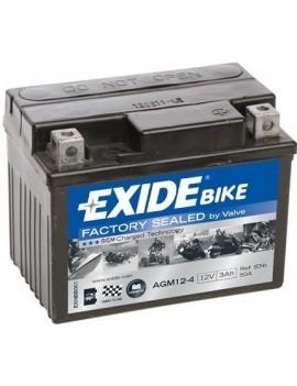 Batería AGM12-4 Exide