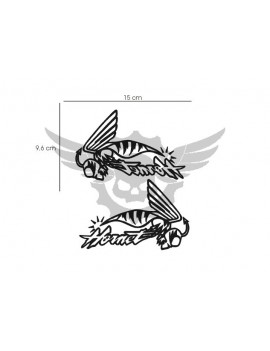 X2 Adhesivos Honda Hornet